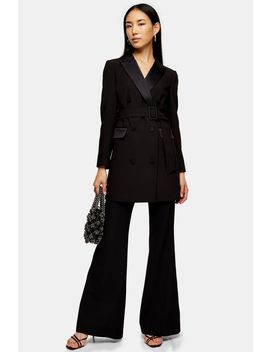 Black Tuxedo Blazer Dress by Topshop