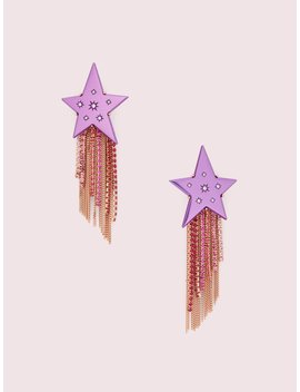 Star Of The Show Fringe Earrings by Kate Spade