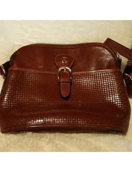 Leather Handbag by Etienne Aigner