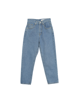 Contrast Stitch Tapered Jeans by Stylenanda