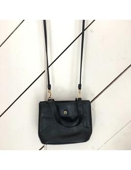 Etienne Aigner* Small Handbag Vintage Black by Etienne Aigner