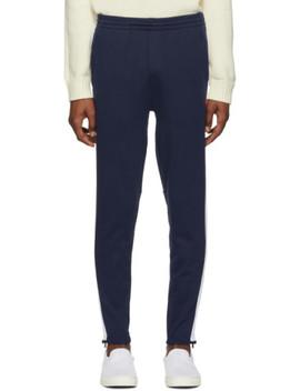 Navy Interlock Lounge Pants by Polo Ralph Lauren