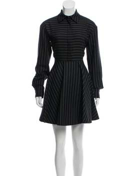 Wool Pinstriped Dress by Stella Mc Cartney