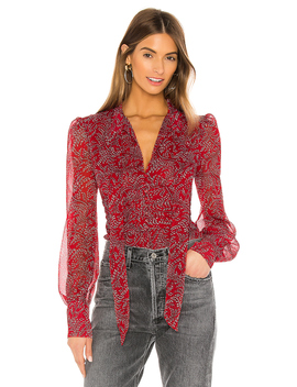 Floral Ditsy Blouse by Bardot