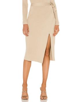 Alyssa Sweater Set Wrap Skirt by Line & Dot