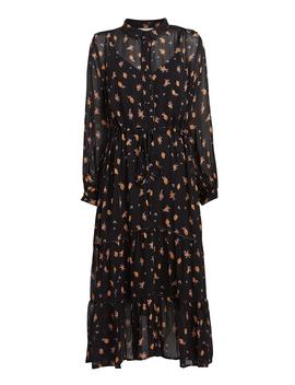 Her Lemon Georgette Dress by Munthe