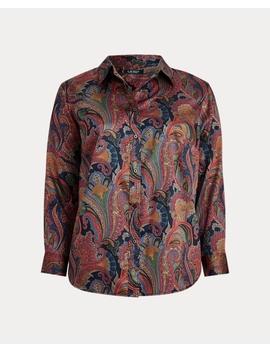 Paisley Cotton Shirt by Ralph Lauren