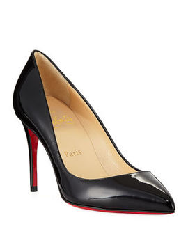 Christian Louboutin Pigalle Follies 85mm Patent Red Sole Pump by Christian Louboutin