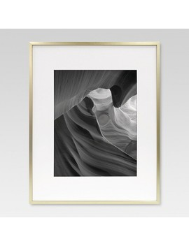 Metal Frame   Brass   Matted Photo   Project 62™ by Shop Collections