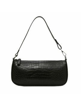 Kendall Jenner 90s Retro Baguette Shoulder Mini Bag Women Faux Leather Crocodile by Ebay Seller