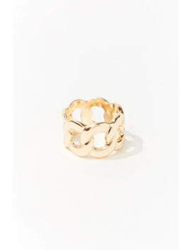Scalloped Cutout Ring by Forever 21