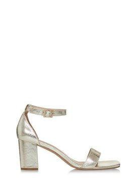 Lts Rosa Strappy Barely There Heel by Long Tall Sally