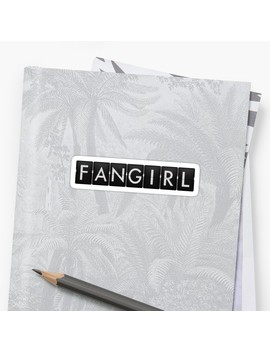 Timeless   Fangirl Sticker by Bad Cat Designs