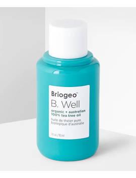 B Well Organic Tea Tree Oil by Briogeo