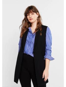 Button Suit Vest by Mango