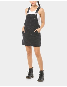 Tommy Jeans Women's Tjw Dress Dungaree Black by Tommy Jeans
