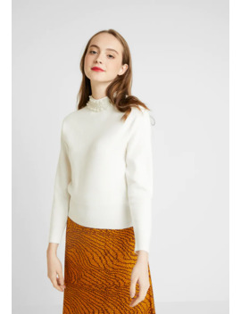 Macie Pearl Collar   Pullover by River Island