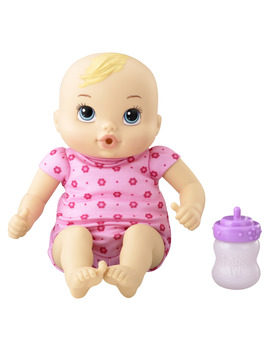Baby Alive Luv N Snuggle Baby (Blonde Curly Hair) by Baby Alive