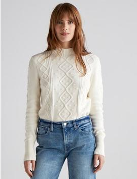 Bauble Cable Knit Pullover by Lucky Brand