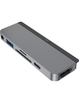 6 In 1 Usb C Hub For I Pad Pro   Gray by Hyper Drive