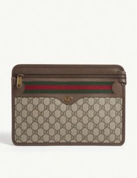 Ophidia Gg Supreme Pouch by Gucci