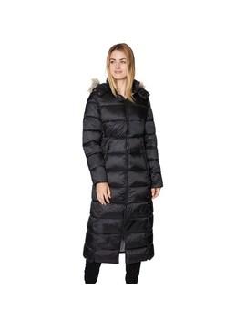 Women's Halitech Faux Fur Hooded Puffer Maxi Coat by Halitech