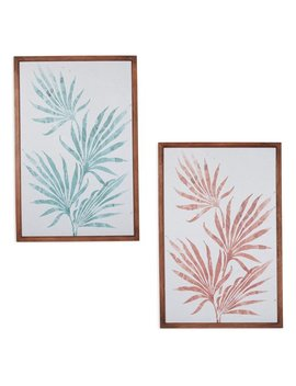 Fronds Wall Art, Set Of 2, By Drew Barrymore Flower Home by Drew Barrymore Flower Home