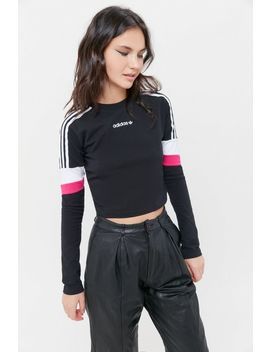 Adidas Cropped Long Sleeve Tee by Adidas