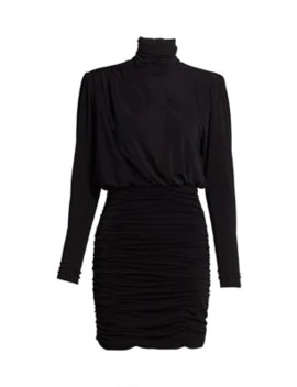 Isla Ruched Jersey Mini Dress by Cinq à Sept