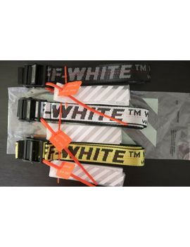 Off White Belt (Yellow) by Off! White