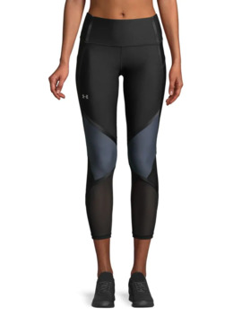 Heat Gear® Armour Shine Ankle Crop Leggings by Under Armour