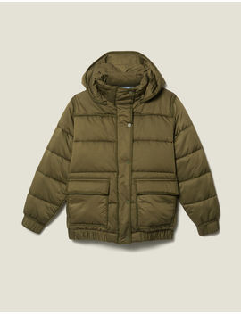 Oversized Quilted Padded Jacket by Sandro Paris
