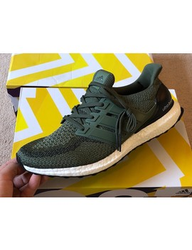Ultraboost 2.0 Green Olive by Adidas  ×
