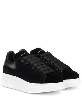 Sneakers In Velluto by Alexander Mc Queen