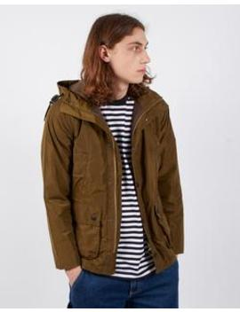 Hooded Bedale Casual Sage by Barbour
