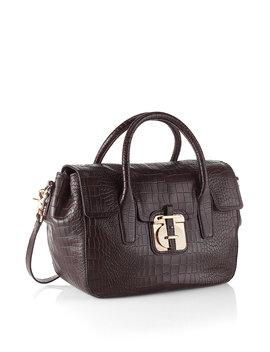Crocodile Look Handbag 'cleide C'crocodile Look Handbag 'cleide C' by Boss
