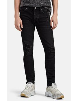 Van Winkle Distressed Slim Jeans by Ksubi