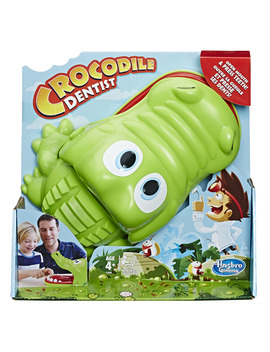 Hasbro Crocodile Dentist Game (Ages 4+) by Hasbro