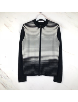 Ysl Wool Striped Z Ipper by Ysl Pour Homme  ×  Yves Saint Laurent  ×