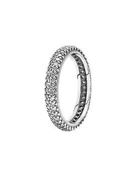 Pandora Silver Cz Stackable Ring by Pandora