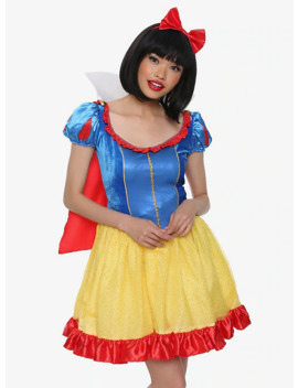 Disney Snow White And The Seven Dwarfs Snow White Deluxe Costume by Hot Topic