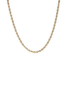 Rope Chain Necklace by Laura Lombardi