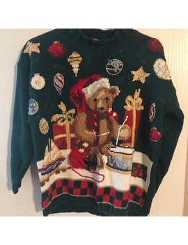 Vintage Christmas Sweater Xl by Poshmark
