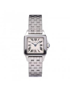 Cartier Stainless Steel 20mm Small Santos Demoiselle Quartz Watch by Cartier