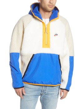 Half Zip Hooded Pullover by Nike