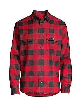 Enver Flannel Checker Shirt by Hugo