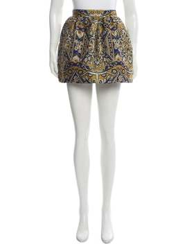 Brocade Mini Skirt W/ Tags by Dsquared²