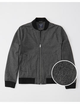 Menswear Bomber Jacket by Abercrombie & Fitch