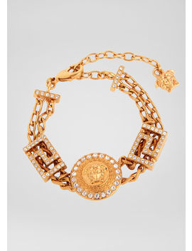 Chained Medusa Bracelet by Versace