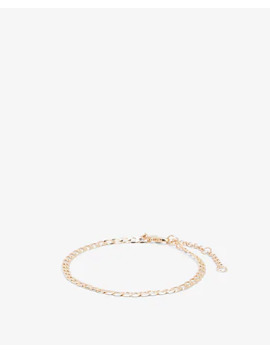 Open Link Chain Ankle Bracelet by Express